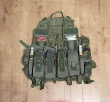 Russian SPOSN/SSO LORIKA assault MOLLE vest for 8 AK mags