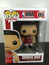 Funko POP! x NBA - Derrick Rose #09 - Rare Vinyl Figure - VAULTED!
