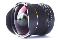 8mm Fisheye Wide Angle Macro Lens for Canon 60D 50D 700D 650D 600D 550D 1100D
