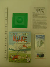 "New ""A Round With Malice"" Armchair Golf Game includes Trivia & Tiddly Winks"