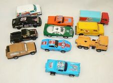 LOT OF 11 ASSORTED DIECAST CARS CORGI, EFSI, YAT MING OTHERS UNBRANDED