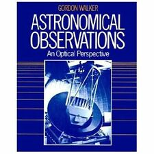Astronomical Observations: An Optical Perspective-ExLibrary