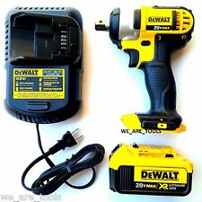 Dewalt 20 Volt DCF880 Cordless 1/2 Impact Wrench,(1) DCB204 4.0 Battery, Charger