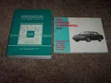 1991 Lincoln Mark VII 7 Shop Service Repair Manual + Electrical Wiring LSC