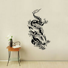 Mythical Animal Wall Decal Home Decor Oriental Dragon Sticker For Living Room