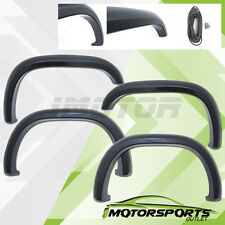1997-2004 Dodge Dakota Black Rivet Front+Rear 4PCS Fender Flares