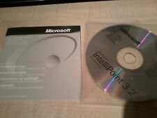 Microsoft Intellipoint 3.2 mouse software and instruction booklet