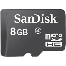 Lot 10 Pcs x 8G 8GB SANDISK MICRO SD SDHC 8G 8GB TF MEMORY CARD CLASS 4