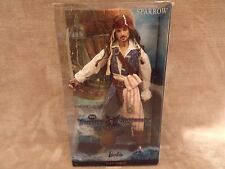 Disney Pirates of the Caribbean Captain Jack Sparrow Barbie Pink Label Mattel