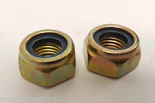 NU125 SET OF 2 X 12MM FRONT WHEEL NUTS  FOR ORION 49CC MINI QUAD BIKE