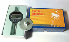 Dial Indicator Gauge, Digital, 0.01 res, 25.4mm range + Lug AND Flat Back