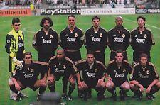 REAL MADRID FOOTBALL TEAM PHOTO 1999-00 SEASON