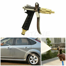 Metal High Pressure Water Gun Pet Wash Spray Car Brass Hose Nozzle Sprayer Head