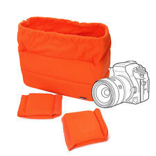 Shockproof DSLR SLR Camera Bag Protect Case Pouches For Canon Nikon Sony Orange