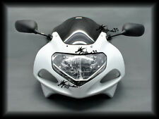 ABS Upper Fairing Combo For GSXR1000 01-02 GSXR600 GSXR750 01-03