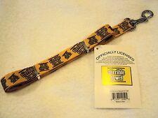 "Pittsburgh Steelers NFL Myron Cope Original TERRIBLE TOWEL 3/4"" x 60"" Dog Leash"