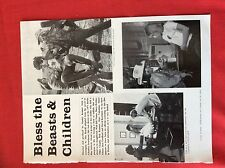 m6-9b ephemera 1970s film preview bless the beasts and children kramer bill mumy