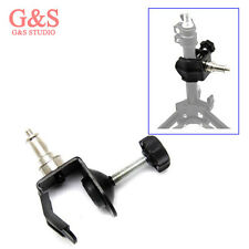 Heavy Duty Clamp For Strobe Flash Photo Studio Light Stand C/U Type