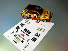 Decal 1 43 RENAULT 5 TURBO N°30 Rally WRC monte carlo 1985 montecarlo