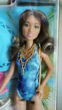 BARBIE BEACH VACATION AT THE BEACH, DOLL GLAM FASHIONISTAS, SHIP from US, NEW,