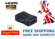 HDMI EXTENDER FEMALE TO FEMALE ADAPTER JOINER CONNECTOR COUPLER 1080P HDTV