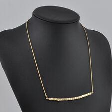 New Women Pendant Gold Chain Choker Chunky Statement Bib Necklace Jewelry Charm