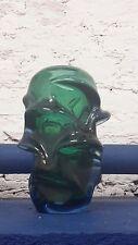 50S 60s SKRDLOVICE PROPELLER ART GLASS VASE ATLAS RANGE BARANEK PATT 5503