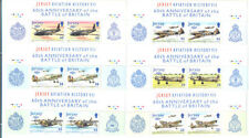 Battle of Britain-Aviation-World War II-Jersey-2 sets mnh from top of sheet