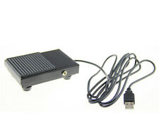 Medical Ultrasonic Metal USB foot switch Keybaord Game Action HID Switch 2M