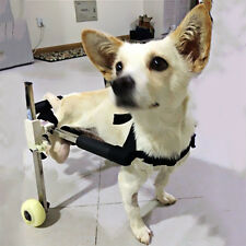 Top Pet Dog Cat Wheelchair Walk For Handicapped Doggie Puppy Cart Height 10""