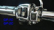 Garage Door opener for Harley  GRIPSWITCH CHROME