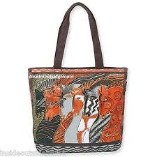 Laurel Burch Horses Moroccan Mares Large Tote Bag Arabian Andalusian Paint NEW