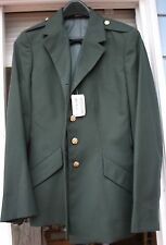 New with TAGS Women's Classic Army Military Green Uniform Coat - Size 14JR