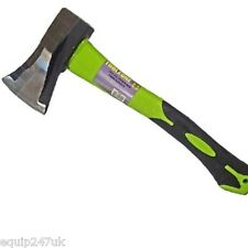 Toolzone 1Kg ANTI JAM 4 Way Wedge Hatchet Hand Axe Head with Fibreglass shaft