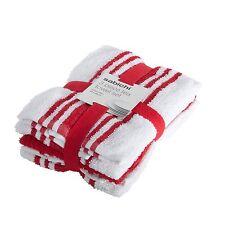 Brand New 3pk Red Tea Towel Set Measures 60 cm length by 40 cm width 105363
