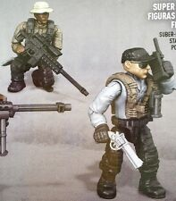 Call of Duty 06854 Mega Bloks Sniper Unit Collector Series FIGURES #2 & 3!