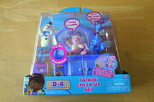 DISNEY JUNIOR DOC MCSTUFFINS TALKIN' CHECK-UP SET CHILLY LAMBIE STUFFY
