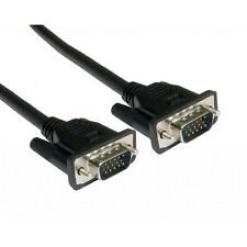 5 Meter VGA/SVGA 15 pin cable  male to male  for PC monitor,LCD etc