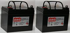 (Two) Replacement for UPG 12V 35AH Group U1 Deep Cycle Sealed Battery NEW USA