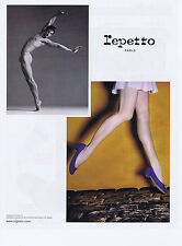 PUBLICITE ADVERTISING 064 2010 REPETTO chaussures avec Vincent Chaillet danseur