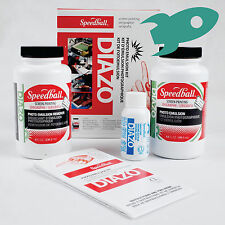 Speedball Diazo Photo Emulsion Kit for screen printing