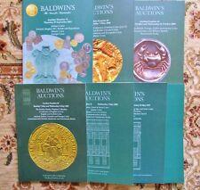 7 BALDWIN'S AUCTIONS Catalogs COINS & MEDALS Numismatics 1995-2011