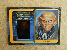 """STAR TREK COMPLETE DEEP SPACE  9  G9 """"Quark"""" DS9 Gallery Chase Card"""