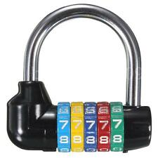 New 5 Digit Number Code Password Dial Combination Padlock Security Safety Lock