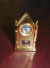 Bulova Mini Cathedral Mantle Clock B 0509 1988 RETIRED Made in Japan