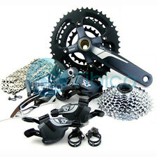 New SRAM X7 X.7 MTB Bike Complete Drivetrain Groupset Group set 10x3 speed