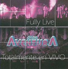 Chicos Aventura Fully Live: Totalmente En Vivo CD ***NEW***