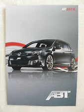 ABT Golf VI - Prospekt Brochure 2009