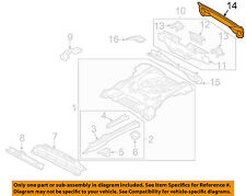 FORD OEM 01-04 Escape Floor Rails-Rear-Support Panel YL8Z7811L52AA