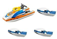LEGO City water jet (pack of 4) police rescue scooter surfer bike BRAND NEW ik5